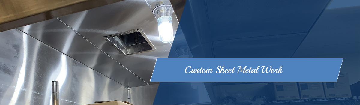 Sheet Metal Work for Heating, Ventilation & Air Conditioning HVAC